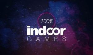 indoorGAMES Gutschein 100 €