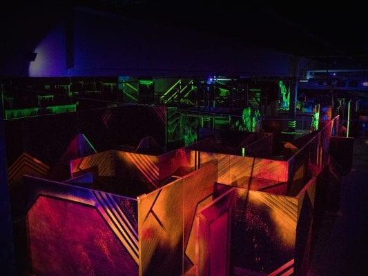 Lasertag Arena 12 indoorGAMES