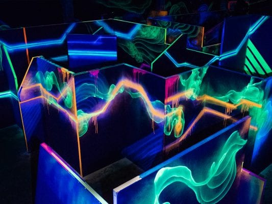 Lasertag Arena 9 indoorGAMES