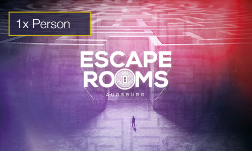Escape Rooms 1 Person Gutschein indoorGAMES