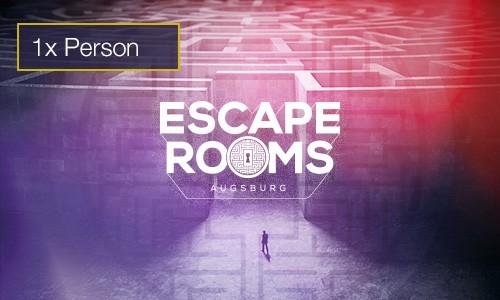 Escape Rooms 1 Person Gutschein indoorGAMES