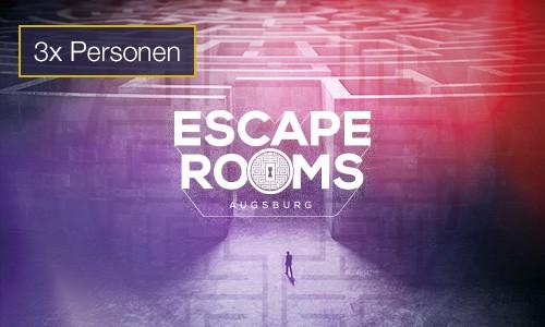 Escape Rooms 3 Personen Gutschein indoorGAMES