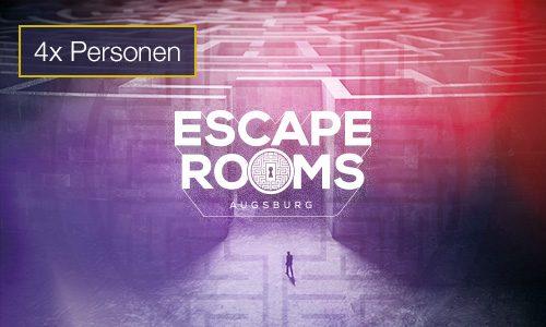 Escape Rooms 4 Personen Gutschein indoorGAMES