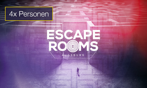 Escape Rooms 4 Personen Gutschein indoorGAMES