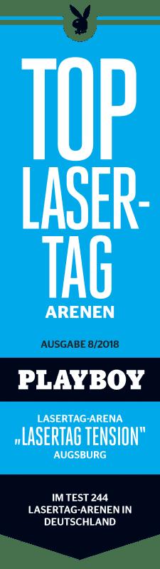 PlayboySiegel LasertagTension indoorGAMES Lasertag München Augsburg