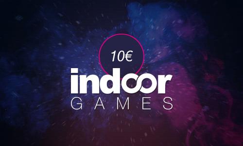 Indoorgames Gutschein 10€